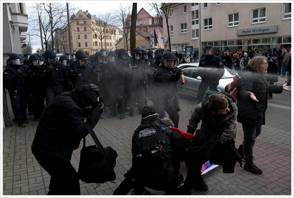 Pepper Police @ Dresden Nazi Frei