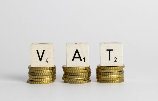VAT text on coins
